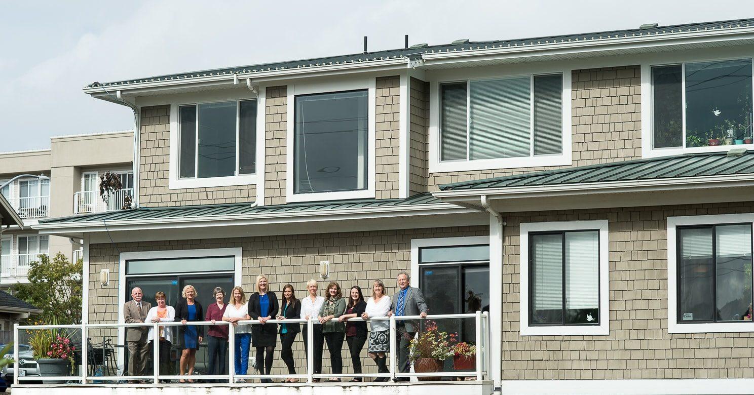 metcalf hodges team on balcony Bellingham, WA-min